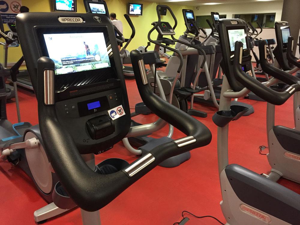 Los polideportivos renuevan sus salas de fitness conecta for Gimnasio irun